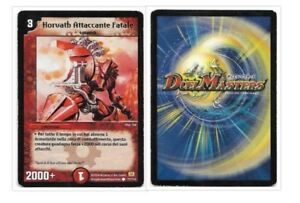 DUEL MASTERS HORVATH ATTACCANTE FATALE 77/110 COMUNE THE REAL_DEAL SHOP