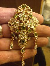 Gold Peridot Costume Jewellery