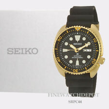 Authentic Seiko Men's Prospex Automatic Diver Gold Tone Watch SRPC44