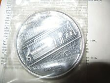 RARE 1973-P SAN FRANCISCO CABLE CAR CENTENNIAL STERLING SILVER MEDAL LTD 9 OZ