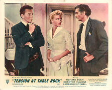 Tension at Table Rock British Lobby Card Cameron Mitchell Dorothy Malone