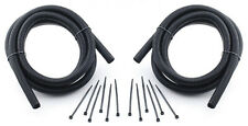 """Split Loom Tubing KIt Convoluted Tube Wire Sleeve Black 3/8"""" ID 16' CHEVY FORD"""