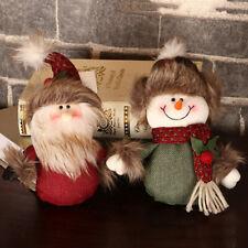 Navidad Muñeca Papá Noel Árbol de Decoración Regalo Muñeco Adorno Nuevo Oferta