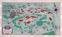 Emory University Atlanta Georgia campus 1941 pictorial old map POSTER 11342