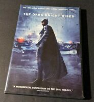 The Dark Knight Rises (DVD, 2012, Widescreen) Starring Christian Bale.
