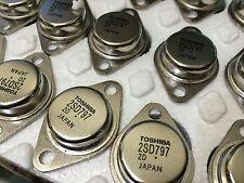 2SD797 SILICON NPN TRIPLE DIFFUSED TOSHIBA LOT OF 4