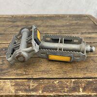 Old School BMX Pedals 9/16 Rat Trap Union 3pc Mongoose Webco Redline Patina M2