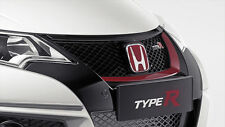 Genuine Honda Civic Tipo R Anteriore RALLY ROSSO grille trim 2015-2016