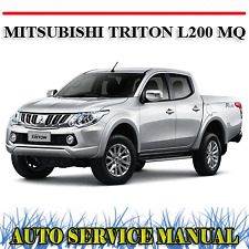 MITSUBISHI TRITON L200 MQ 2015-2018 WORKSHOP SERVICE REPAIR MANUAL ~ DVD