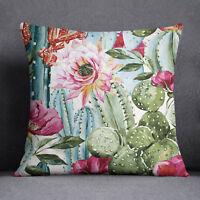 S4Sassy dekorative Kaktus /& Floral bedruckten indischen Sofa Platz Kissenhülle