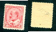 Mint Canada 2 Cent King Edward Stamp #90 (Lot #13338)