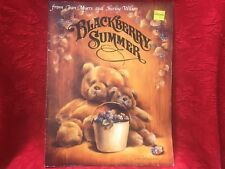 Blacberry Summer by Jean Myers Tole Painting SC Art Instruction Book 1987