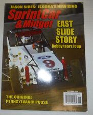 Sprint Car & Midget Magazine Bobby Tears It Up September 2004 020915R