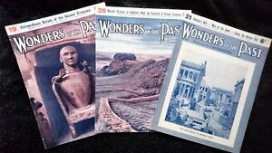 Wonders of the Past Magazines 19, 20 & 21 by Sir JA Hammerton 1933-34 Paperback