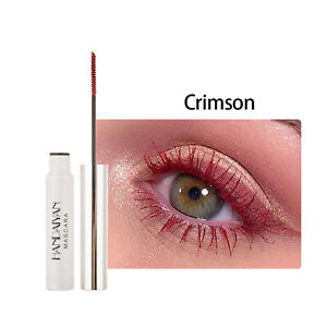 Crimson Telescopic Mascara Thrive Waterproof Colored Mascara Long Lasting 5ML