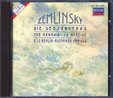 Riccardo Chailly: Zemlinsky la perfida the Mermaid Salmo XIII op.24 CD