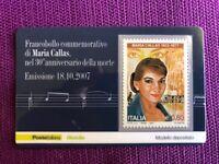 TESSERA FILATELICA 2007 MARIA CALLAS