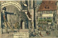 Werbepostkarte Weinstube Vincens Richter in Meissen 1915
