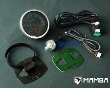 Mamba 60 mm Electronic DEL Performance Turbo Pression D'Huile Jauge Kit