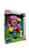 Peppa Pig Peppa Fair Ground Ferris Rueda Playset's luces y sonidos con la figura
