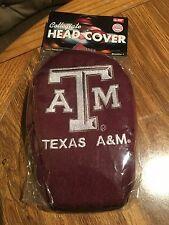 Single Golf Head Cover ~ Texas A & M ~ NIP