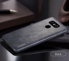 X-Level For LG G6 G5 V20 Vintage Skin Touch Soft Leather Back Men's Case Cover