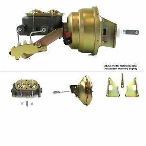 "70-81 Chevrolet Camaro FW Mount Power 11"" Single Brake Booster Kit Drum/Drum V8"