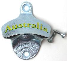 "New ""Australia"" Starr X wall mounted beer bottle opener bar decor Aussie beer"