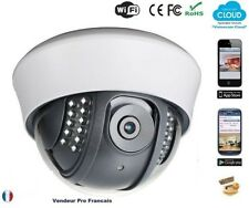 Caméra IP dôme intérieure Réseau Wifi Sans Fils Ethernet Android Iphone