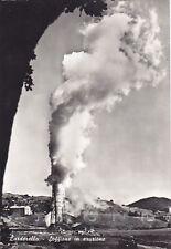 PISA POMARANCE 08 LARDERELLO - SOFFIONE Cartolina FOTOGRAFICA viaggiata 1964