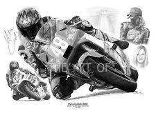 Maria Costello MBE TT and Manx Grand Prix by Billy fine art print