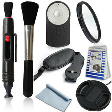 Camera Kit-Cleaning Kit for ALL DSLR Cameras+ RC-6 Remote Accessary For Canon