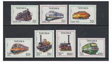 Tanzania - 1991 Locomotives set - MNH - SG 1082/8