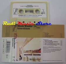 MC STEVIE WONDER Innervisions MADE ITALY TAMLA MOTOWN ZK 72012 no cd lp vhs dvd