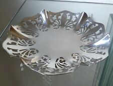 Antico Vittoriano SHEFFIELD SILVER PLATED Piercing Tazza-J Deakin