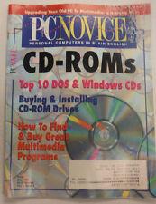 PC Novice Magazine CD-Roms Multimedia Programs May 1995 FAL 061815R
