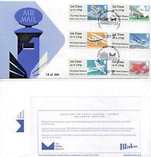 Museo Postale Posta per via aerea PRIMO GIORNO DI COPERTURA POST GO 13/09/17 LTD ED FDC 300
