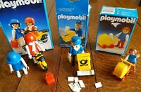 Vintage Playmobil Geobra Bundle  1980's 3 sets 3357 3309 3302 boxed inc Figures