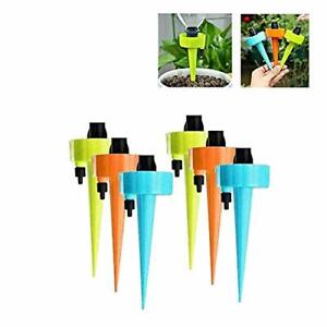 12Pcs Automatic Self-Watering Plant Watering Bottle Water Drip Irrigation Device
