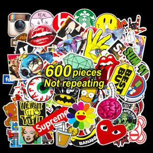 600Stk Aufkleber Set Stickerbomb Tuning Aufkleber Autoaufkleber Decals Sticker