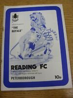 14/08/1976 Reading v Peterborough United [Football League Cup] (Rusty Staples).