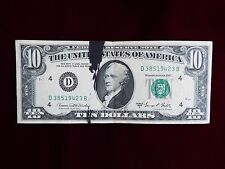 1969C $10 Cleveland Frn with Bep Ink Smear Error