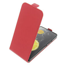 Case for Lenovo K3 Note FLIPSTYLE Cellphone Bag Protector Cover Flip Case Red