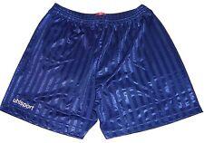 "Mens Uhlsport Sports Football Shorts Size 30/32"" Waist Brand New Navy #594"