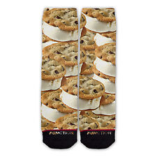Function - Ice Cream Cookie Sandwich Fashion Socks all over sublimation sublimat