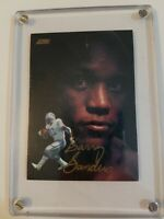 Very Rare Barry Sanders 1991 Score Series 2 Dream Team Autographed Card