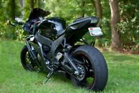 Kawasaki ZX10R ZX-10R Fender Eliminator / Tail Tidy PL NTS   BLACK 2011 - 2015