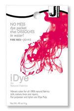 Jacquard iDye Fabric Dye Natural Fibres  14g  - Fire Red