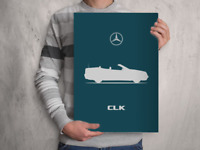 POSTER Art Print Car RENDER MERCEDES W115 - A4 A3 A2 sizes