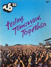 "US Festival '83 ""Today, Tomorrow, Together"" Tour Magazine Program"